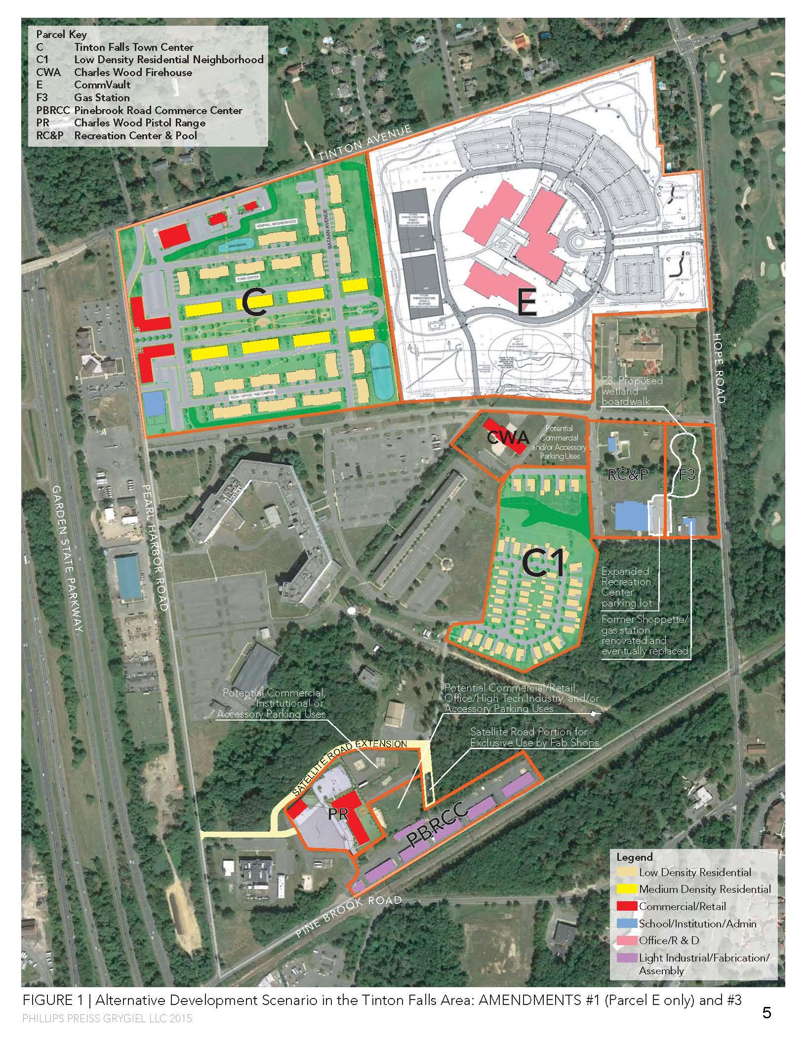 Map from Tinton Falls_Reuse Plan Amendment_3