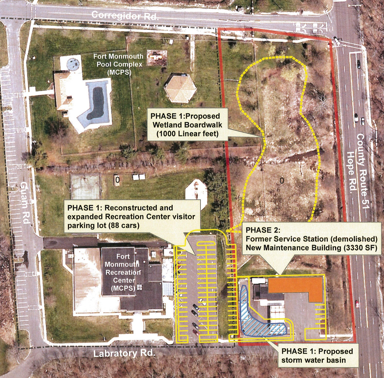 Parcel F3 - County site plan